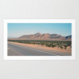 Nevada Road Art Print