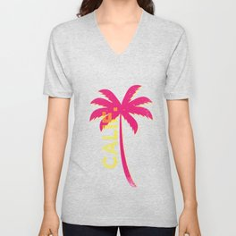California Palm Unisex V-Neck