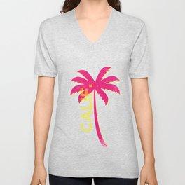 California Palm Unisex V-Neck