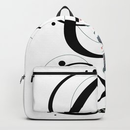 Letter G of the alphabet Backpack