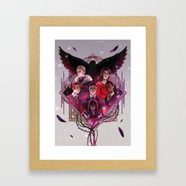 Six of Crows Framed Art Print