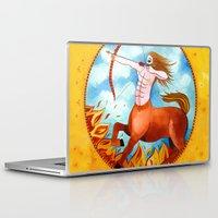 sagittarius Laptop & iPad Skins featuring Sagittarius by Sandra Nascimento