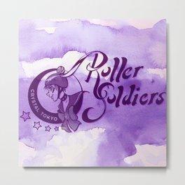 Roller Soldiers Redux Metal Print
