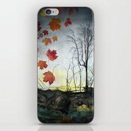 October (Falling) iPhone Skin