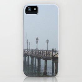 Fog over Malaga iPhone Case