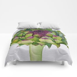 Watercolour Artichoke Comforters