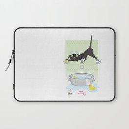 The kitty bath Laptop Sleeve