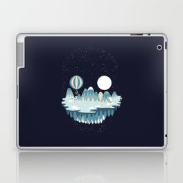 Winter skull Laptop & iPad Skin
