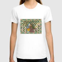 Radha Krishna Madhubani T-shirt