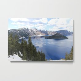 Great Heights-Crater Lake, Oregon Metal Print