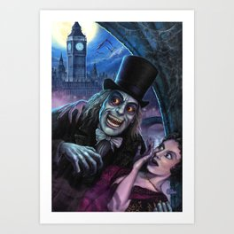 Vampire of London Art Print