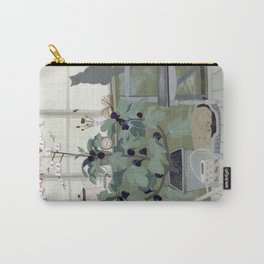 Indoor Garden With Fig Tree Carry-All Pouch