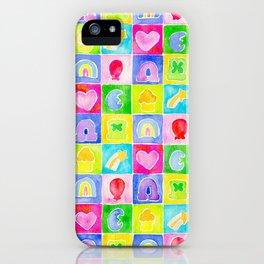 Rainbow Charms iPhone Case