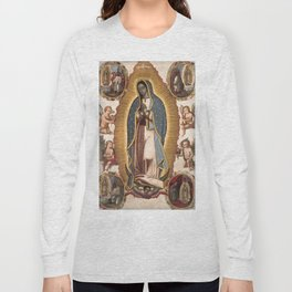 Virgin of Guadalupe, 1700 Long Sleeve T-shirt