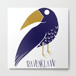 Cute and Smart Ravenclaw Metal Print