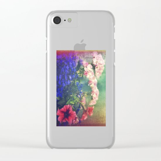 Flowers of my joy Clear iPhone Case