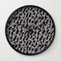 Tundra. Winter time. Wall Clock