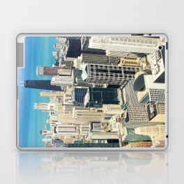 Chicago Buildings Color Photo Laptop & iPad Skin