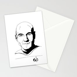 Jean-Luc Picard Stationery Cards