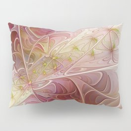 On the Road, abstract Fractal Art Pillow Sham