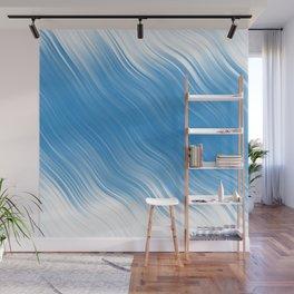 Stripes Wave Pattern 10 wbi Wall Mural