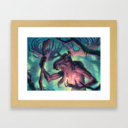 Moose Shamman Framed Art Print