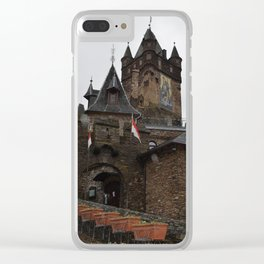 German Castle Clear iPhone Case
