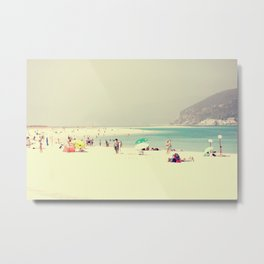 beach day out Metal Print
