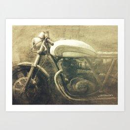Vintage Motorcycle Gems IV Art Print