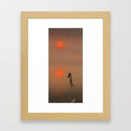 Hakua Byouto Framed Art Print