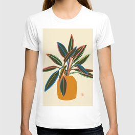 PLANT WITH COLOURFUL LEAVES  T-shirt