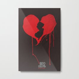 My heart is in NJ Unite & Rebuild! Metal Print