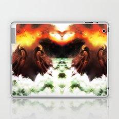 Ion Bombardment Mirrored [Digital Figure Illustration] Laptop & iPad Skin
