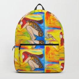 HUNGER  #Society6  #decor  #buyart Backpack