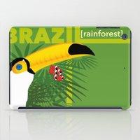 brazil iPad Cases featuring Brazil [rainforest] by Caetanorama Art Studio