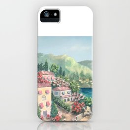 Sunny island, Italy iPhone Case