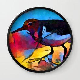 Sandpiper Wall Clock