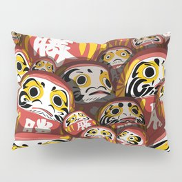 Daruma dolls Pillow Sham