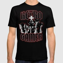 Chess Retro Gamer T-shirt