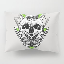 Green Piramid Symbol Pillow Sham