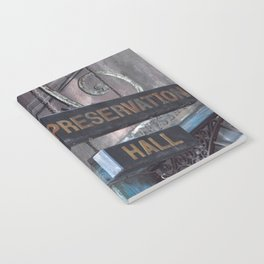 A Music Haven: Preservation Hall Notebook