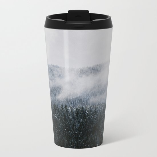 Winter V Metal Travel Mug