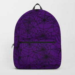 Halloween Witch Webs Backpack
