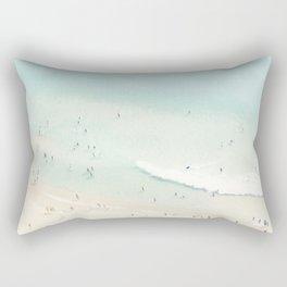 beach summer fun Rectangular Pillow