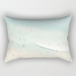 beach summer fun Rectangular Pillow