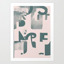 Typefart 005 Art Print