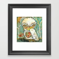 Let The Outside In Framed Art Print