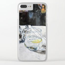 Ambience - refresh Clear iPhone Case