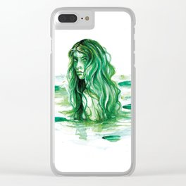 Frog Princess Sea Witch Clear iPhone Case