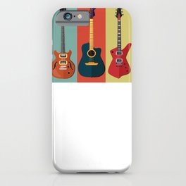 Colorful Bass Guitar iPhone Case